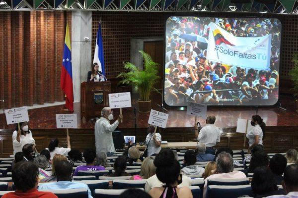 Encuentro de líderes sociales UCAB | Rector Virtuoso: venezolanos no queremos comunas sino vivir en comunidad