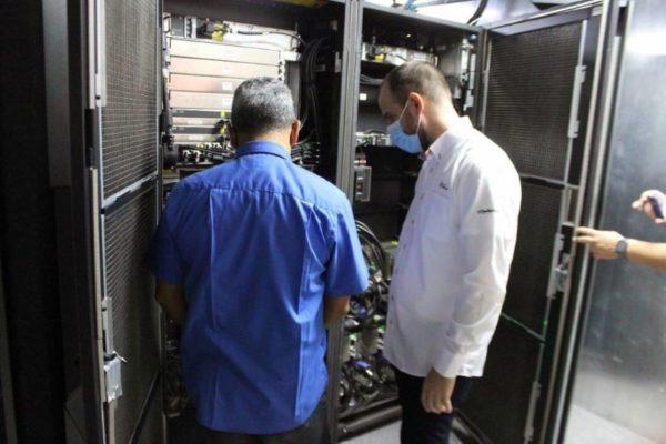 Presidente del Banco de Venezuela inspeccionó sistemas y centros de datos: 'vamos a repotenciar equipos tecnológicos'