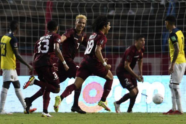 #Qatar2022 | Venezuela se consuela batiendo a Ecuador y Brasil cede su invicto con empate frente a Colombia