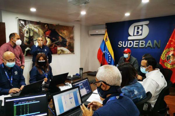 96% de los servicios de la banca pública y privada están operativos, según la Sudeban