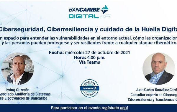 Bancaribe Digital abordará aspectos relevantes de Ciberseguridad